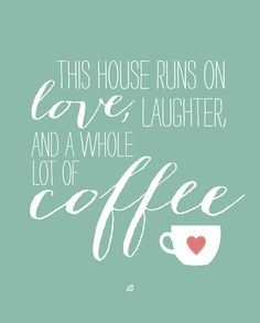 cute printable, lots of other coffee, kitchen and other free printables