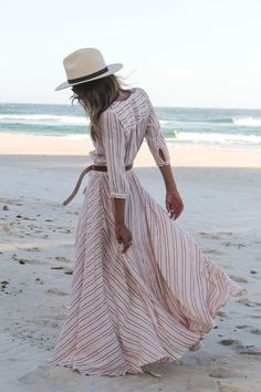 . White hats pop in almost any setting or with almost any outfit.