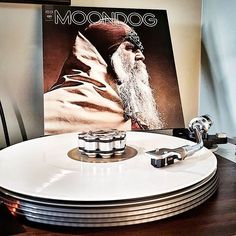 #nowspinning Moondog (1969). 2017 Caribou Records/Legacy 2017 RSD reissue on white vinyl. Talk about having my cake and eating it too. I got to sleep in on Record Store Day 2017, and still found 2 copies of the only album I was excited for. Aaand it sounds great, mastering and pressing. . . . . ____ #audiokarma #audioporn #vinylporn #vinyligclub #instahifi #instamusic #instavinyl #vinylcommunity #vinylporn #vinyl #realistic #turntable #turntableporn #dl103r #movingcoil #musiclover…