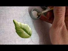 pintando uma folha com Rosana Duran - YouTube