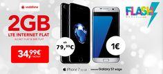 Apple iPhone 7 ab 79,99€ mit 2GB LTE Vodafone Smart L für 34,99€ http://www.simdealz.de/vodafone/smart-l-2gb-giga-travel-promo/