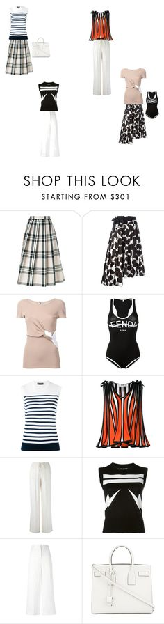 """a thing of beauty"" by emmamegan-5678 ❤ liked on Polyvore featuring Sofie D'hoore, Marni, Christopher Esber, Fendi, Dolce&Gabbana, MSGM, P.A.R.O.S.H., Neil Barrett, Ermanno Scervino and Yves Saint Laurent"
