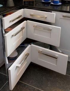 Mutfak Köşeleri için Dolap Tasarım Fikirleri ve Pratik Kullanımlar - Ev Düzenleme Fikirleri