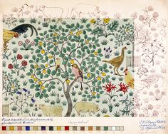 In my Orchard, by C.F.A. Voysey