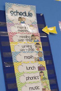 Mrs. Ricca's Kindergarten: Classroom Organization! {FREEBIES}