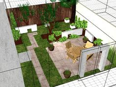 Contemporary Spanish Yard : Page 02 : Archive : Home & Garden Television