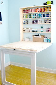 Remodelaholic » Blog Archive Fun Craft Room Makeover » Remodelaholic