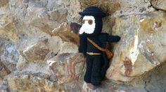 PLAGUE DOCTOR PLUSH 5'' medieval assassins creed por Kutuleras