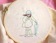 want to make these for my girls (this is april for annie). i've never done embroidery though..? ;-)