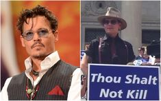 Johnny Depp joins anti-execution rally in Arkansas #Entertainment_ #iNewsPhoto