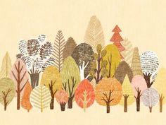 숲 by 박경연 - 그라폴리오