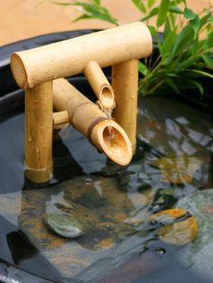 WISHLIST! Shishi Odoshi Bamboo Fountain - Deer chaser fountain