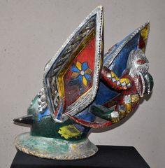 Yoruba Egungun head