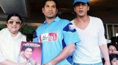 with Lata Mangeshkar (playback singer) & Sachin Tendulkar needs-no-explanation! :)