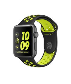 Apple Watch Nike+ (Series 2) -Space Gray Aluminum Case with Black/Volt Nike Sport Band (38mm & 42mm)