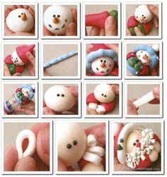 santa and snowman PART N°2