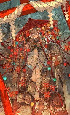 Pretty Art, Cute Art, How To Pixel Art, Art Antique, Japon Illustration, Samurai Art, Art Reference Poses, Character Design Inspiration, Animes Wallpapers