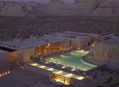 Jet Set: The Amangiri Resort located in Canyon Point, Utah is an incredible place to visit.