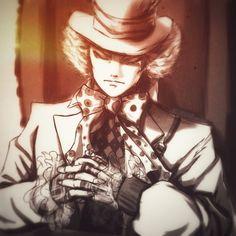 "This is the first illustration on the world of ""Alice in Wonderland"". Johnny Depp, Mad Hatter Drawing, Tarrant Hightopp, Alice In Wonderland Artwork, Alice Madness Returns, Dark Disney, Pretty Backgrounds, Disney And Dreamworks, Tim Burton"