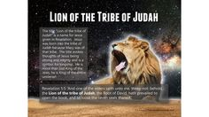 "The title ""Lion of the tribe of Judah"" is a name for Jesus given in Revelation. Description from refrigeratordevotionals.com. I searched for this on bing.com/images"