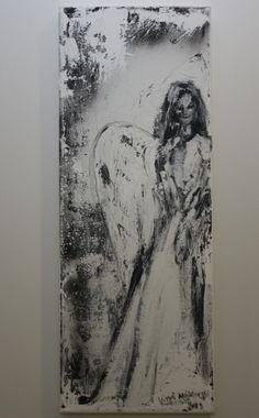 Lumilapset Ihanat uniikit akryylimaalaukset www.lumilapset.fi Angels, Abstract, Artwork, Summary, Work Of Art, Auguste Rodin Artwork, Angel, Artworks, Illustrators
