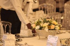The beauty of a wedding is in the details at Polana Serena Hotel. Vintage table setting