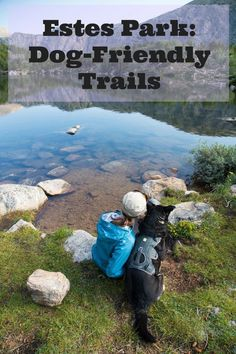 Rocky Mountain National Park doesn\'t allow dogs but there are still plenty of dog-friendly trails in Estes Park! Here are some of my favorites.