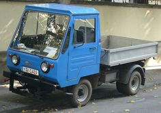 East German Car, Little Truck, Smart Car, Old Trucks, Old Cars, Cars And Motorcycles, Monster Trucks, Vehicles, Retro