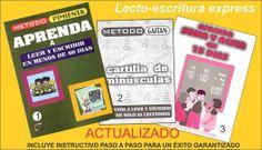 Metodo efectivo para enseñar a leer y escribir a niños a partir de 4 años de edad, a jóvenes y adultos iletrados.. altamente efectivo