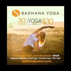 Sadhana Yoga Print Ad by CreDesign