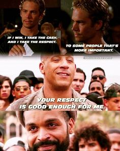 """~ - """"The whole point of Cuba was an homage, pulling Paul into the opening sequence of Fast - Vin Diesel - - Paul William Walker IV ( Paul Walker Quotes, Rip Paul Walker, Fate And Furious 8, Fast And Furious, F1 Mexico, Brian Oconner, Fast 8, Dominic Toretto, Furious Movie"""