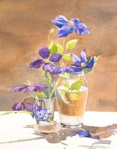 法国女画家Delphine Poussot水彩作品欣赏