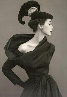 Cristobal Balenciaga, Harper's Bazaar, 1950