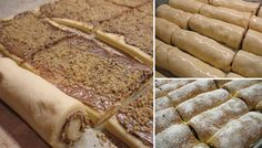 Úžasne chutné domáce mini-rolky, po ktorých sa u vás doma len tak zapráši. Czech Recipes, Russian Recipes, Ethnic Recipes, Eastern European Recipes, Sweet Breakfast, Sweet And Salty, Something Sweet, Desert Recipes, Sweet Recipes