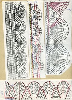 михайловское кружево, учебные сколки
