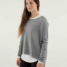 lululemon pure balance grey sweater - Google Search