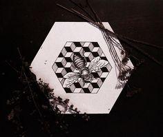 #пчела #рисунок by psyksy