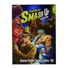 Science Fiction Double Feature is one of the most versatile Smash Up expansions, and matching factions is a treat no matter which ones you already own.