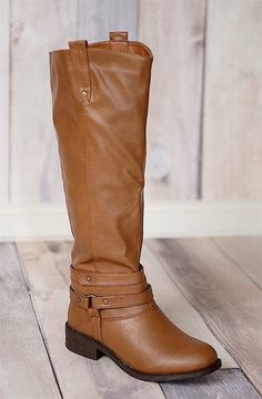 Gorgeous Riding Boots with Wrap Around Strap Detailing! {Jane Deals}