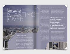 Misc. Magazine Spreads - Meredith Tschetter Design