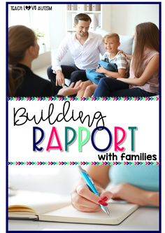 Building rapport with families can be one of the most important things to promote success for students in the classroom. Read more to get ideas! Social Skills Activities, Teaching Strategies, Classroom Activities, Classroom Ideas, Teaching Life Skills, Teaching Special Education, Teaching Tools, Teaching Ideas, Parent Teacher Communication