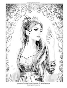 Grayscale Coloring Book For Adults 9781537394459