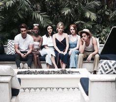 LPR + K.J. Apa, Ashleigh Murray, Camila Mendes, Madelaine Petsch + Cole Sprouse