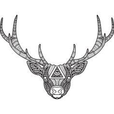 Zentangle Deer   Pullover Hoodie Size Chart