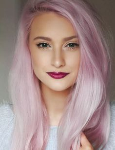 #hair color #pink hair #pastel hair