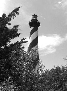 B & W Cape Hatteras Lighthouse