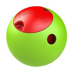 The The Foobler Timed, Self Reloading Puzzle Feeder ball toy for Dogs