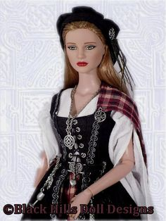 Black Hills Doll Design - Celtic