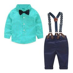 Baby Boy Plaid Shirt and Pants| Baby Clothes, Baby Boy Clothes, #babyclothes, #babyboyclothes #BabyboyOveralls
