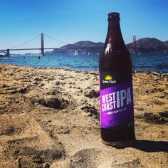 @greenflashbeer West Coast IPA. Great beer for a great beach day.